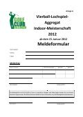 gemischte Vierball-Lochspiel-Aggregat Indoor-Meisterschaft 2012 - Page 5
