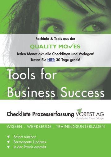 prozess-checkliste - Vorest AG