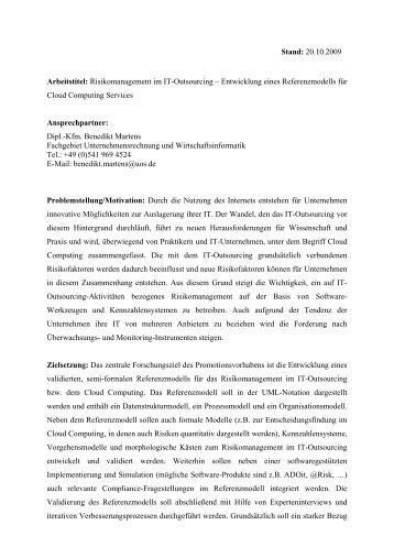 expose dissertation germanistik