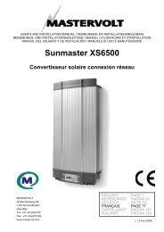 Sunmaster XS6500