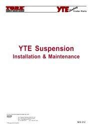 YTE Susp Guide.p65 - York Transport Equipment