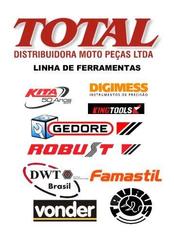 LINHA DE FERRAMENTAS - Total Moto