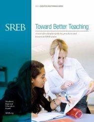 Toward Better Teaching - Southern Regional Education Board