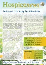 Hospice News Reduced PDF Spring 2013 - Hospice Isle of Man