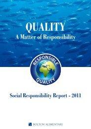 a Matter of Responsibility - Saupiquet