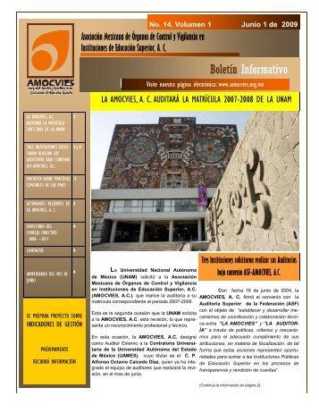 Boletin Informativo 14, volumen 1.pdf - Amocvies