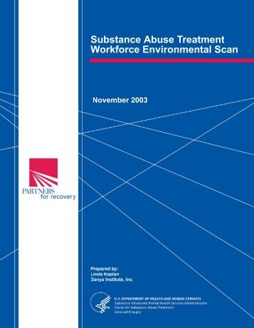 Substance Abuse Treatment Workforce Environmental Scan - PATH ...