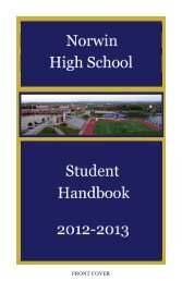 FRONT COVER - Norwin School District