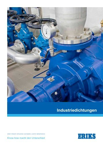 Broschüre Industriedichtungen - Eriks