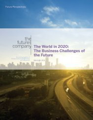 The World in 2020: The Business Challenges of the Future