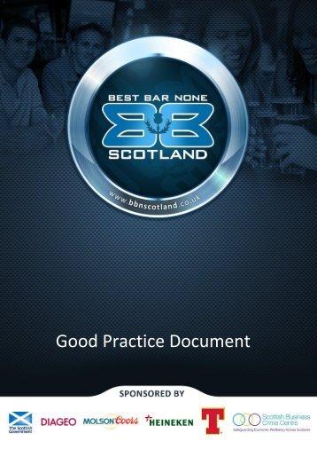 Good Practice Document - Aberdeen City Council