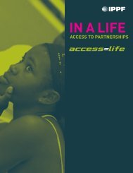 IN A LIFE - International Planned Parenthood Federation