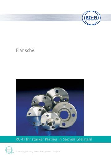 Blindflansche DIN 2527 PN 10/16 - RO-FI Edelstahl