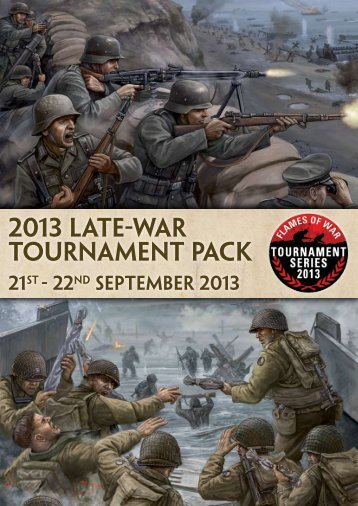Download a PDF version of the information pack ... - Flames of War