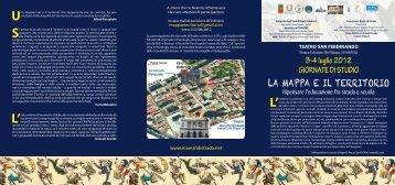la mappa e il territorio - SCUola di DOttorato | UniNa - Università ...