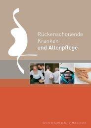Rückenschonende Kranken- und Altenpflege