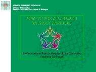 Wealth for all: Health without barriers - Azienda USL di Reggio Emilia