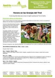 Granjas en el Tirol - Vacances Actives