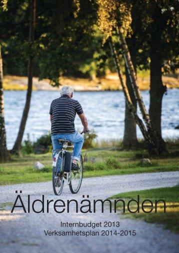 ÄF internbudget 2013 - Karlskrona kommun