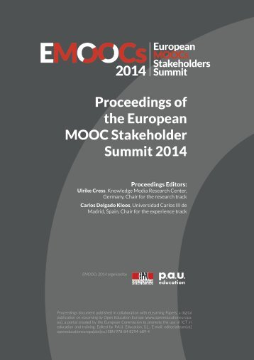 Proceedings-Moocs-Summit-2014
