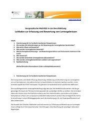 Leitfaden zur Erfassung und Bewertung von ... - ECVET