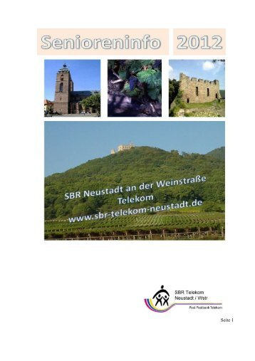 Ausgabe 14 2012 - SBR-Telekom-Neustadt
