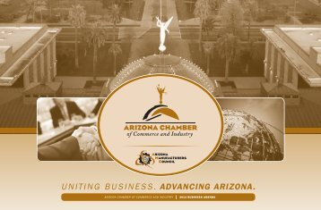 2012 Business Agenda - Arizona Chamber of Commerce