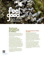 Bewahren der Artenvielfalt und des Lebensraums für Wildtiere