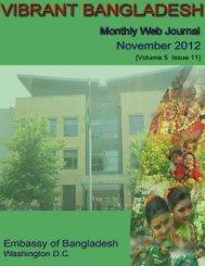 November - The Embassy of Bangladesh in Washington DC