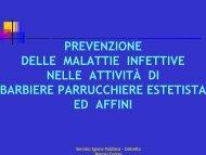 disinfezione - Azienda USL di Reggio Emilia