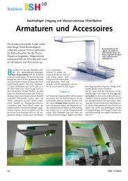 Armaturen und Accessoires - SBZ