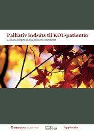 Palliativ indsats til KOL-patienter - Danmarks Lungeforening