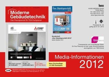 Media-Informationen - Huss Verlag