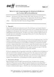 Referat af møde 17 i AM - DEFF