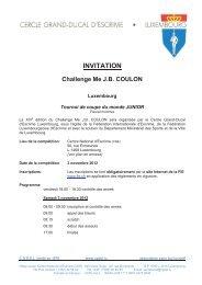 Lux Coulon 1 - Fechtsport Langenkamp