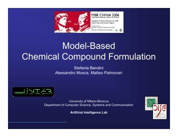 Model-Based Chemical Compound Formulation - L.Int.Ar.