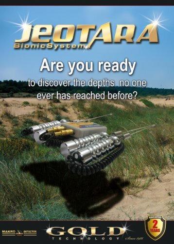 Download Jeotara Bionic System Brochure - K. R. B. Geo Services