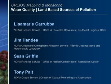 Land-based Sources of Pollution - NOAA's Coral Reef Conservation ...