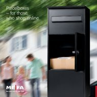 Parcelboxes – for those, who shop online - ME-FA