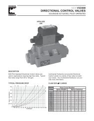 directional control valves - Royal Hydraulics