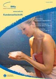 Kundenmagazin Ausgabe 03/08 - Stadtwerke Ludwigsburg