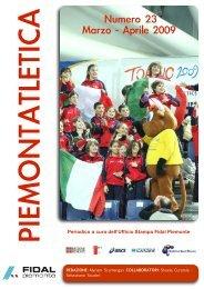 Piemontatletica aprile 2009 - Fidal Piemonte