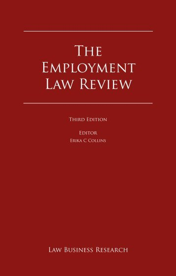 The Employment Law Review - Graf & Pitkowitz