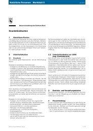 Merkblatt 5 - Kanton Bern