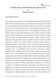 Introduzione al pensiero di Leonardo Ancona - Doppio Sogno