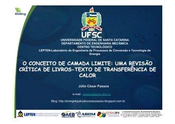 u - LEPTEN - Universidade Federal de Santa Catarina