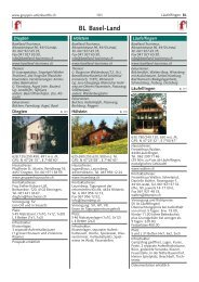 BL Basel-Land - gruppen-unterkuenfte