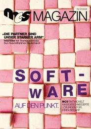 AUF DEN PUNKT. - MCS Moorbek Computer Systeme GmbH