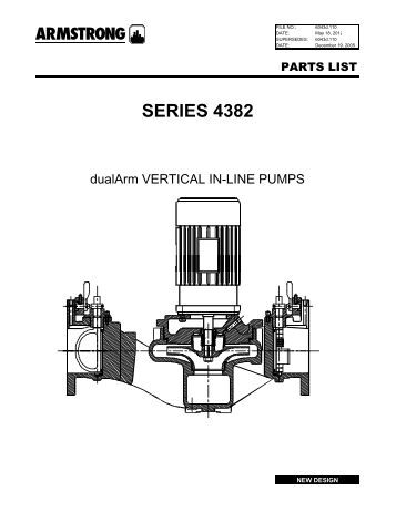 series 4030 centerline discharge, base mounted