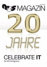 20 JahrE MCS - MCS Moorbek Computer Systeme GmbH